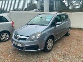 image for 2006 Vauxhall Zafira 1.6i Life 5dr ** 7 SEATER ** cheap 7 seater cheap car