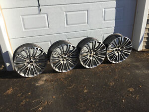 """Lincoln MKX  Amost New 20"""" Rims (4)"""