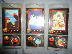 COLLECTABLE DISNEY COINS BRAND NEW