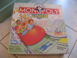 Jeux de table Monopoly Junior de Parker/Brothers