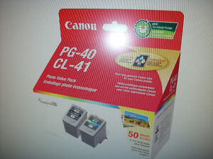 Canon twin pack of inks black and colour brand new never open
