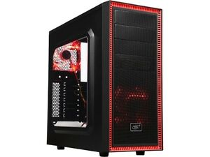 Deepcool TESSERACT SW RED Red