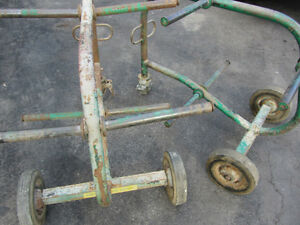 2 GREENLEE  909 MOBILE SIX SPOOL STEEL FRAME WIRE CART Windsor Region Ontario image 1