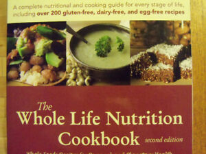 The WHOLE life Nutrition cookbook-Gluten-dairy free!