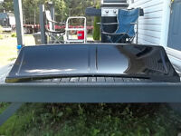 whale tail fin for semi