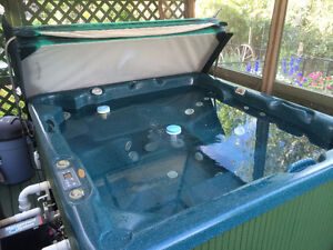 Beachcomber Hot Tub sits 6 people