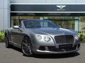 image for 2014 Bentley Continental 6.0 W12 GTC Speed Auto 4WD 2dr Convertible Petrol Autom