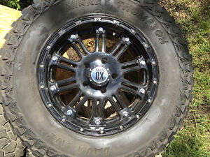 20 XD series rims currently with 37inch Mickey Thompson bajas