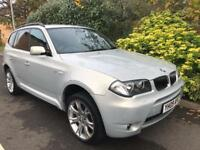 BMW X3 D M SPORT 2009 Diesel Automatic in Silver