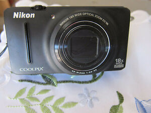 Nikon Coolpix S9200 18x zoom pocket camera