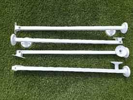 Vertical Stair Rail Supports X 4