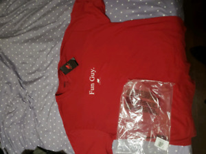 Trading XL red for Large
