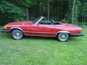 1978 convertible SL 450 mercedes