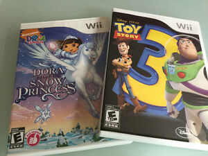 Wii games 10$ each/chaque