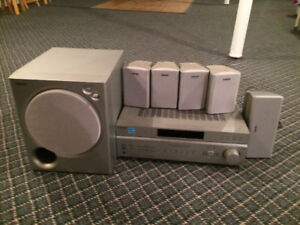 SONY HOME STEREO system - 5 components