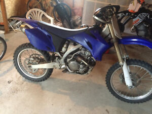 2006 yz250f with 290 big bore kit