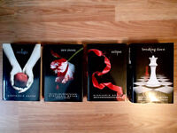 Twilight Book Collection  Collection of four hardcover books Granby Québec Preview
