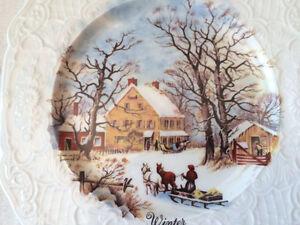 Assietes Décorative -Four Season Collector Plates/ Vintage Item West Island Greater Montréal image 5