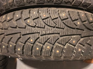 studded winter tires 195/65/15