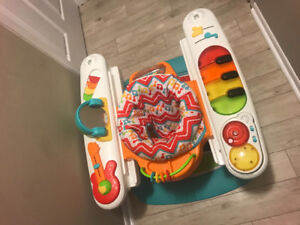 4-in-1 step n' baby play Piano.