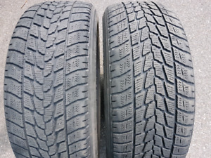 225/55/r18   --    225/40/18  WINTER TIRES