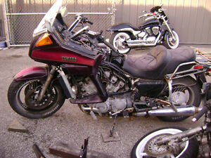 1985 Yamaha XVZ12D Venture Royale Parts For Sale Sarnia Sarnia Area image 1