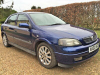 Vauxhall Astra 1.6i SXi 16v 2003 5 dr/spd FSH from new 187K miles very reliable