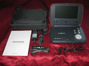 2x Insignia Portable DVD Player Mint Condition