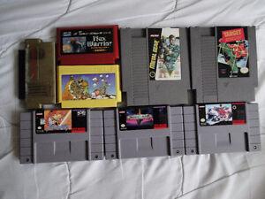 Jeux SNES / NES / Genesis