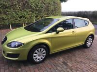 SEAT LEON S TDI 1.9 2010 REG 5 DOOR DIESEL WITH AIR CONDITIONING CAMBELT CHANGED