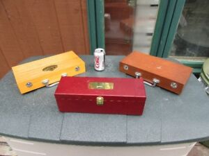 WOOD BOXES - 4 ITEMS - REDUCED!!!!
