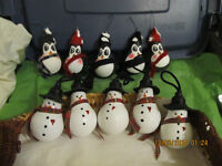 """"""" Penquins, Snowmans, Cat in the hat , Grinch's,Olaf,s"""""""