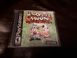 Harvest Moon Back To Nature PS1 Complete