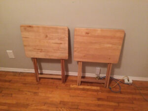 Moving Sale - 2 TV tables