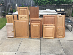 Solid wood cabinet doors ( various sizes )