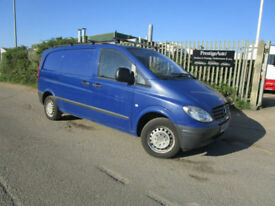 2006 56 Mercedes-Benz Vito 109 CDI COMPACT DIESEL 2.1 TD 6 SPEED TWIN SIDE DOORS