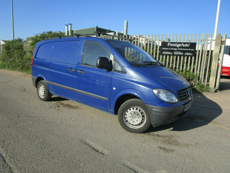 1776f1a6a8 2006 56 Mercedes-Benz Vito 109 CDI COMPACT DIESEL 2.1 TD 6 SPEED TWIN SIDE  DOORS