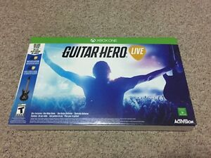 Guitar hero live Xbox one bundle