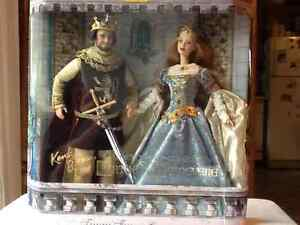 Barbie and Ken Camelot Arthur and Guinevere