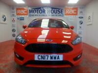 2017 Ford Focus ST-LINE(ONLY 32096 MILES) (ONLY 20.00 ROAD TAX) FREE MOTS AS LO