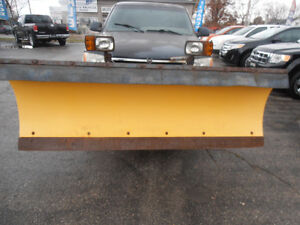 "6'5"" Snow Plow with all wiring and controls"