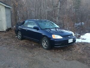 2002 Honda Civic n/a Coupe (2 door)