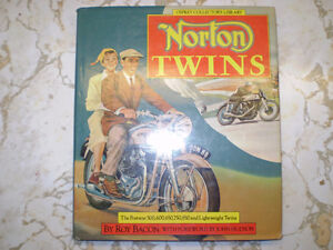 NORTON TWINS by Roy Bacon
