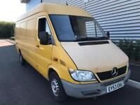 MERCEDES BENZ SPRINTER 2.2TD 311CDi LWB + HIGH ROOF + LWB + PANEL VAN