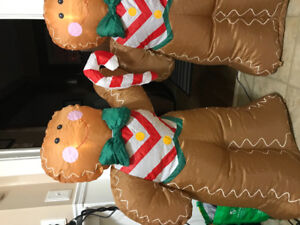 Gingerbread man inflatables