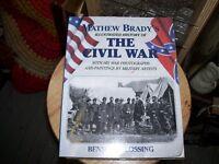 Book Mathew Brady's History of The Civil War for Christmas