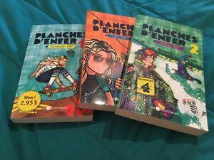 Plusieurs livres à vendre