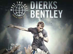 Dierks Bentley What The Hell World Tour 2017