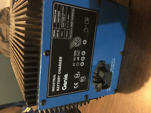 Genie Industrial battery charger