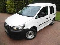 2013 Volkswagen Caddy C20 1.6TDI BlueMotion Tech 5 SEAT CREW VAN